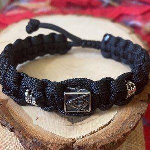 Freemason parachute men's bracelet